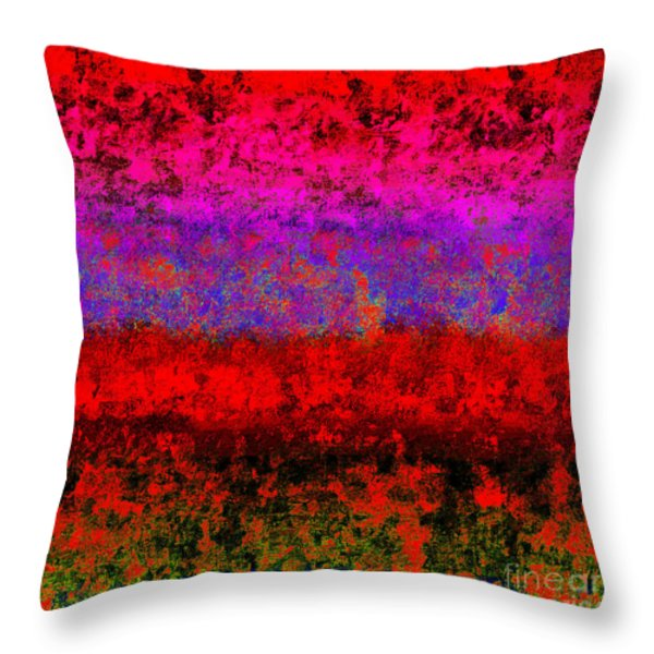 1423 Abstract Thought Throw Pillow by Chowdary V Arikatla