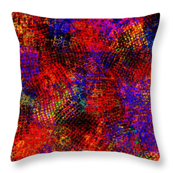 1432 Abstract Thought Throw Pillow by Chowdary V Arikatla