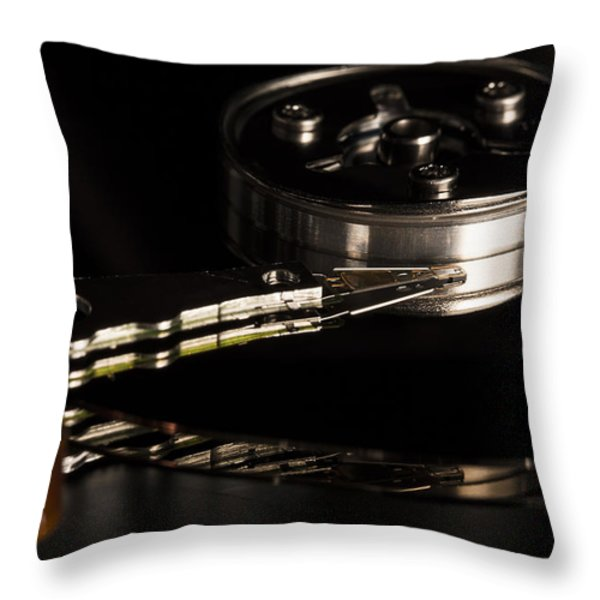 15 Megabytes Of Useless Information Throw Pillow by Andrew Pacheco