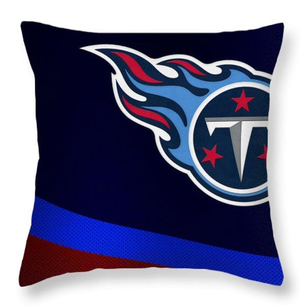 Tennessee Titans Throw Pillow by Joe Hamilton