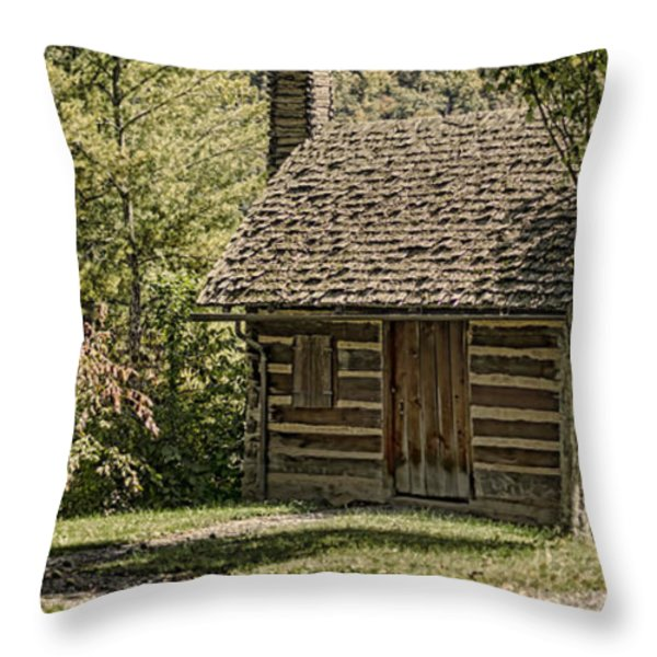 18th Century Throw Pillow by Heather Applegate