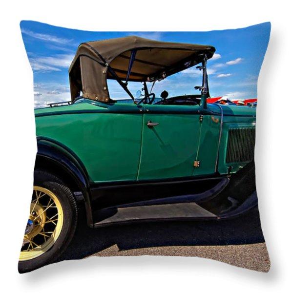 1931 Model T Ford Throw Pillow by Steve Harrington