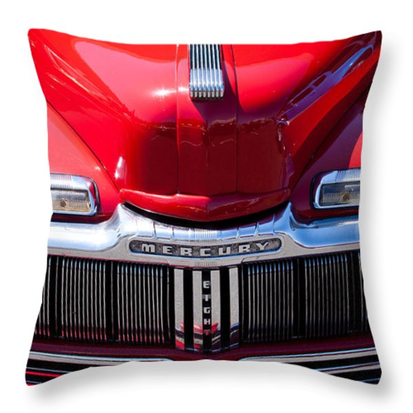 1946 Ford Mercury Eight Throw Pillow by David Patterson