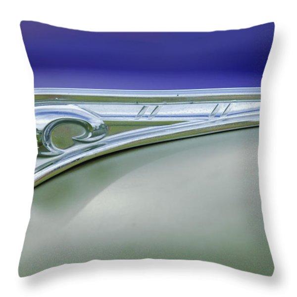 1947 Dodge Gi Joe Throw Pillow by Jill Reger