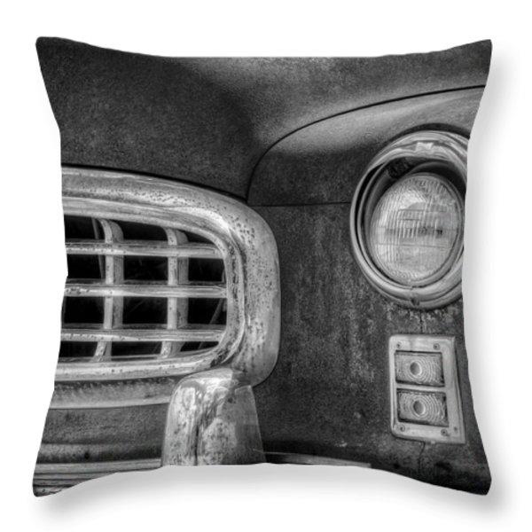 1950 Nash Statesman Throw Pillow by Scott Norris