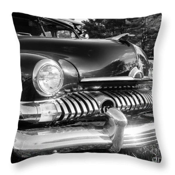 1951 Mercury Coupe - American Graffiti Throw Pillow by Edward Fielding