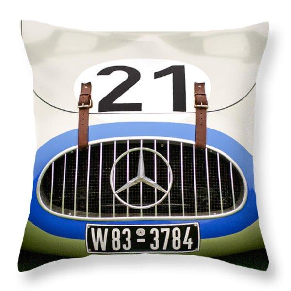 1952 Mercedes-Benz W194 Coupe Throw Pillow by Jill Reger