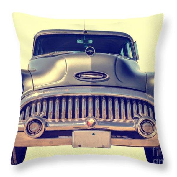 1953 Buick Roadmaster Throw Pillow by Edward Fielding