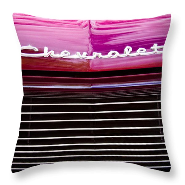 1959 Chevy Biscayne Throw Pillow by David Patterson