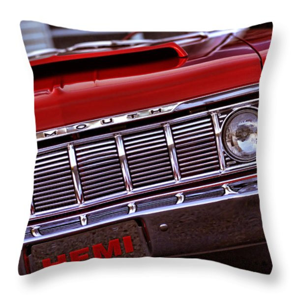1964 Plymouth Savoy Throw Pillow by Gordon Dean II