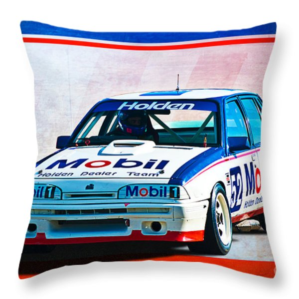 1987 Vl Commodore Group A Throw Pillow by Stuart Row