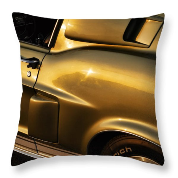 1968 Ford Mustang Shelby GT 350 Throw Pillow by Gordon Dean II