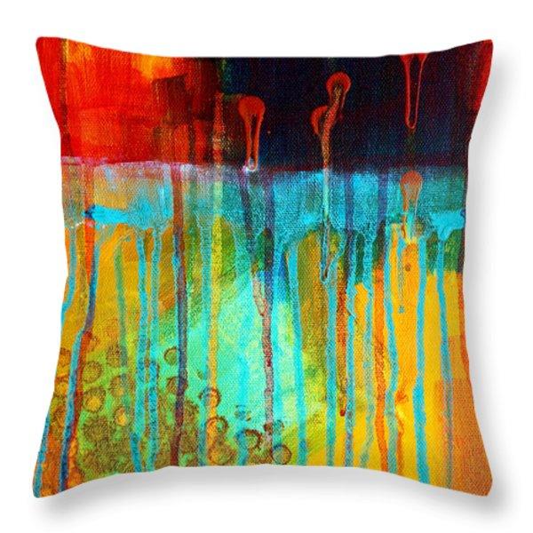 After Midnight Throw Pillow by Nancy Merkle