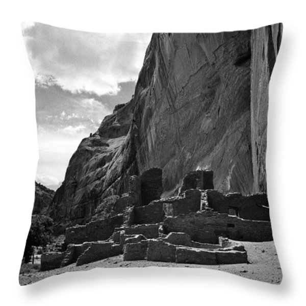 Canyon De Chelly Throw Pillow by Steven Ralser
