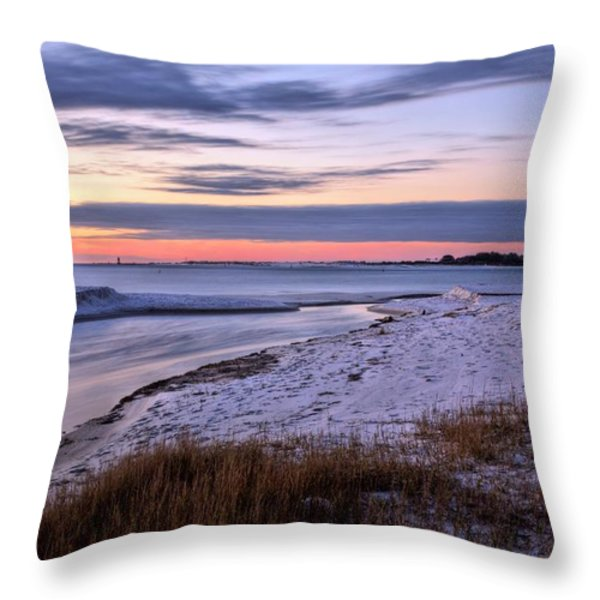 Flowing Throw Pillow by JC Findley