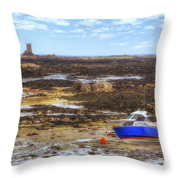 La Rocque - Jersey Throw Pillow by Joana Kruse