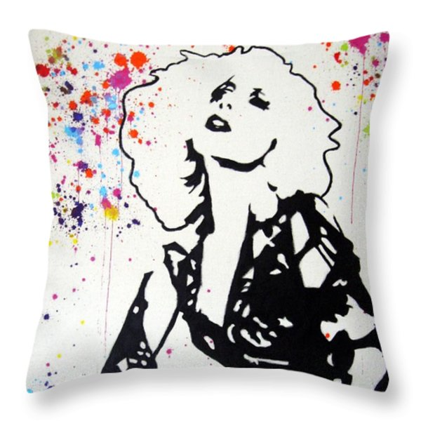 Lady Gaga Throw Pillow by Venus