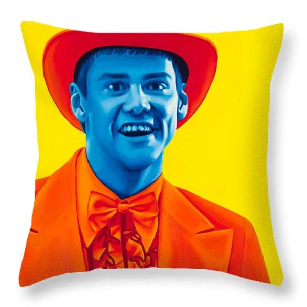 Lloyd Christmas Throw Pillow by Ellen Patton