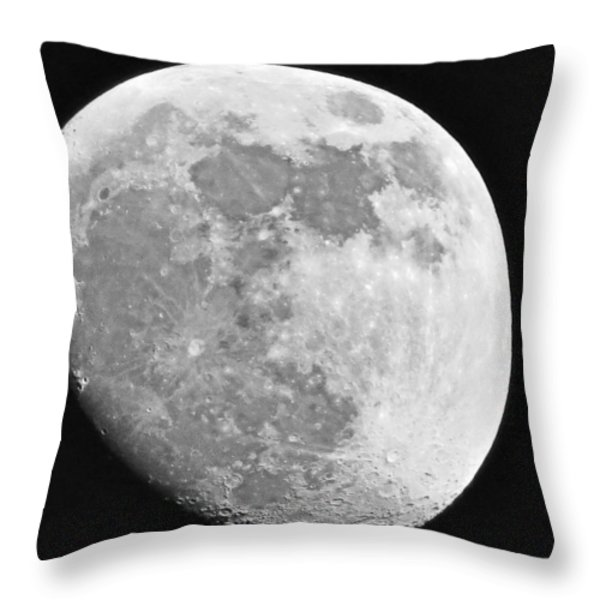 Man In The Moon Throw Pillow by Tom Gari Gallery-Three-Photography