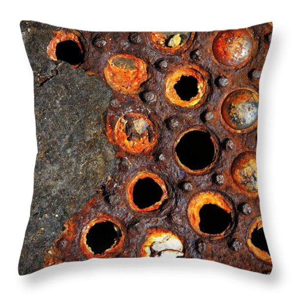 Matrix Throw Pillow by Skip Hunt