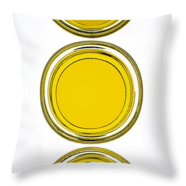 Olive Oil Throw Pillow by Frank Tschakert