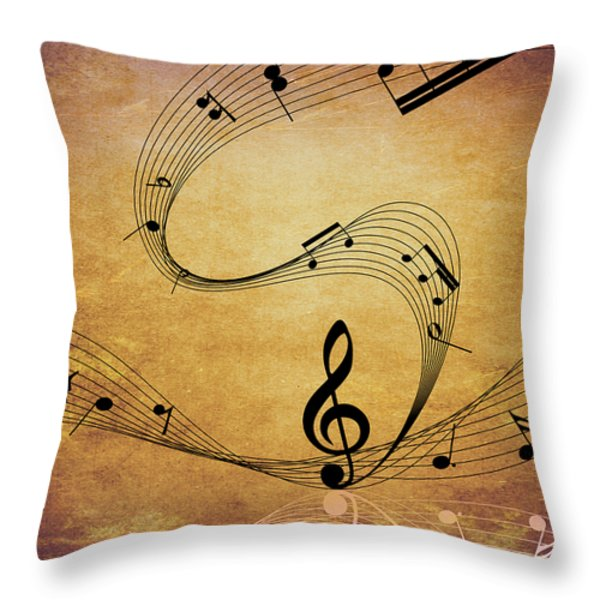 One Is The Loneliest Number Throw Pillow by Angelina Vick