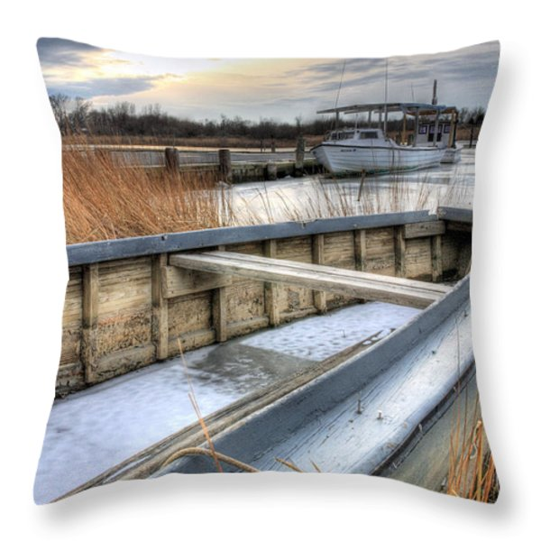 Seaworthy Throw Pillow by JC Findley