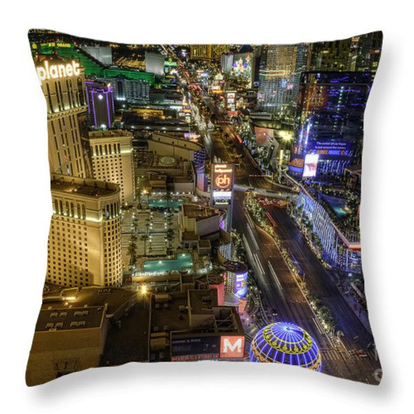 Sin City Throw Pillow by Eddie Yerkish