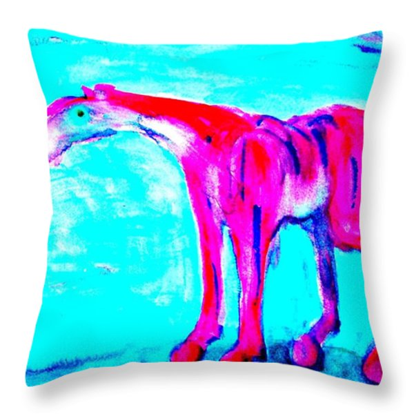 so lonely I could die Throw Pillow by Hilde Widerberg