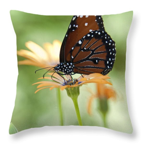 Softly Spoken  Throw Pillow by Saija  Lehtonen