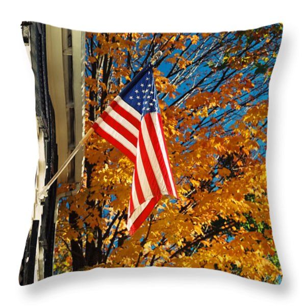Standing Proud Throw Pillow by Joann Vitali