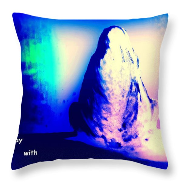 Stay With Me Throw Pillow by Hilde Widerberg