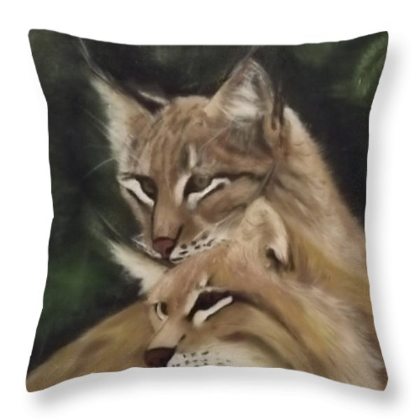 We See You Throw Pillow by Frank Loria