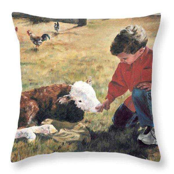 20 Minute Orphan Throw Pillow by Lori Brackett