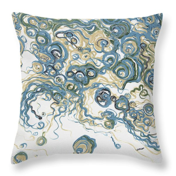 2013-santorini Throw Pillow by Ted Domek