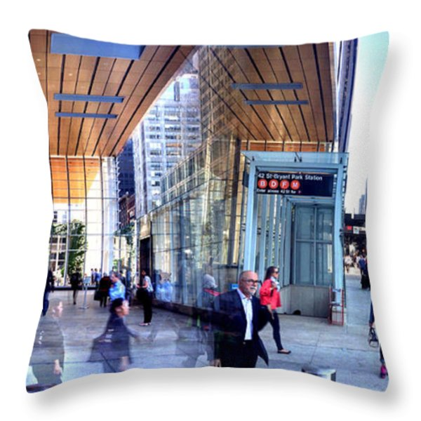 24 Hours of Work Throw Pillow by Angelo Merluccio