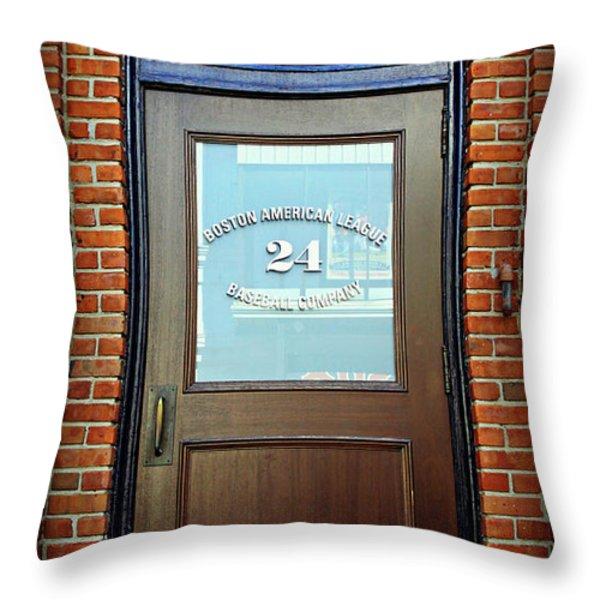 24 Yawkey Way Throw Pillow by Stephen Stookey