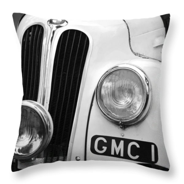 1937 Frazer Nash BMW 328 Throw Pillow by Jill Reger