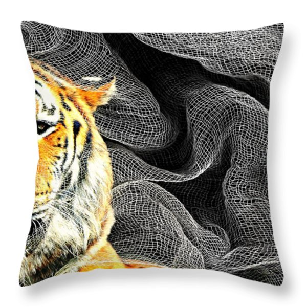 Capture Throw Pillow by Diana Angstadt