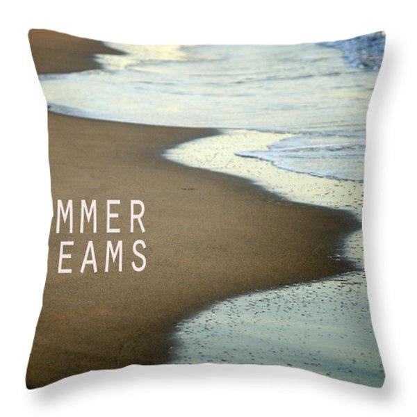 Summer Dreams Throw Pillow by Guido Montanes Castillo