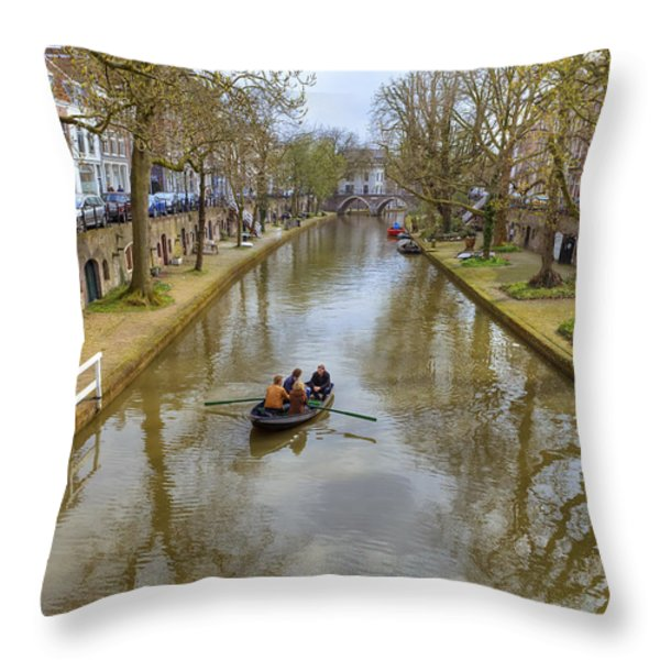 Utrecht Throw Pillow by Joana Kruse
