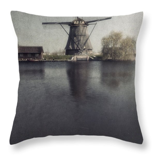 Windmill  Throw Pillow by Joana Kruse