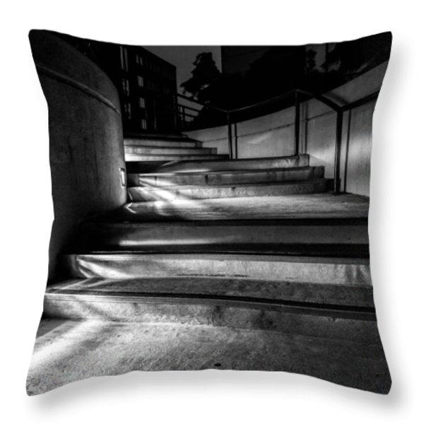 3am Portland Throw Pillow by Bob Orsillo