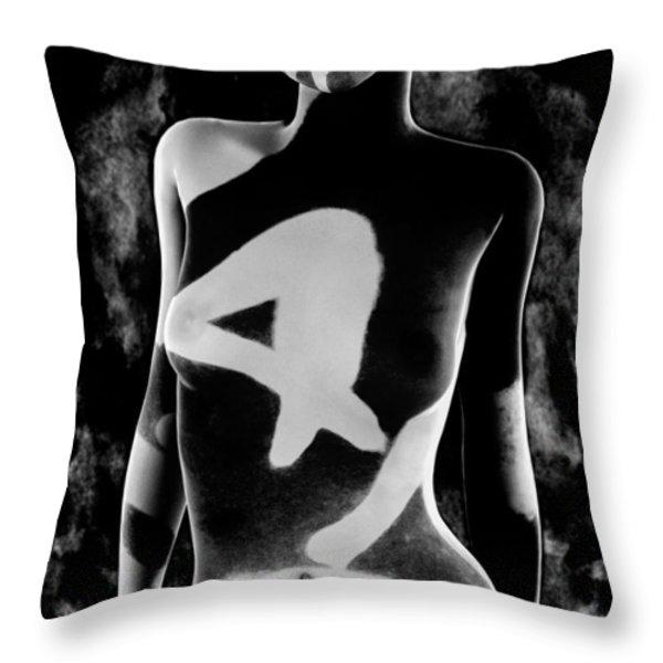 4 Throw Pillow by Bob Orsillo