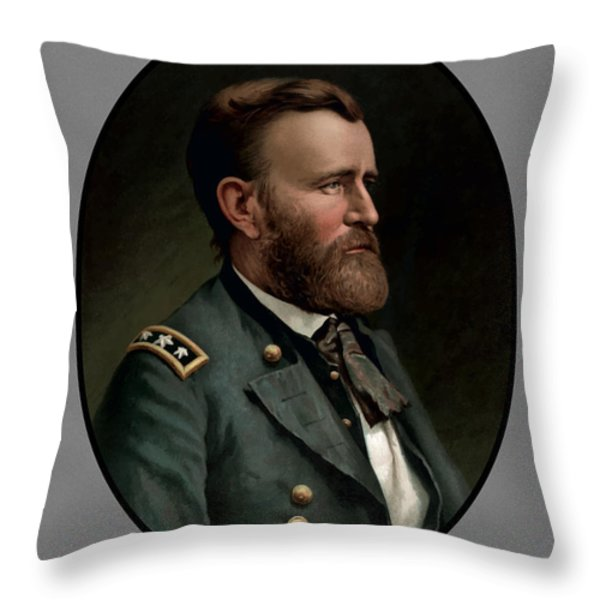 General Grant Throw Pillow by War Is Hell Store