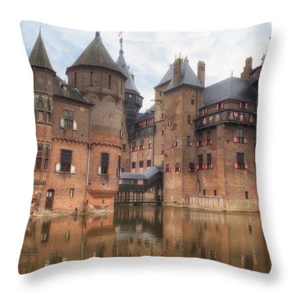 Kasteel De Haar Throw Pillow by Joana Kruse