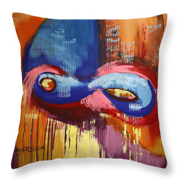 40 Days And 40 Nights Throw Pillow by Anthony Falbo