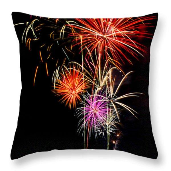 4th of July 2012 Throw Pillow by Saija  Lehtonen