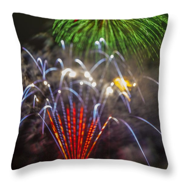 4th of July through the Lens Baby Throw Pillow by Scott Campbell