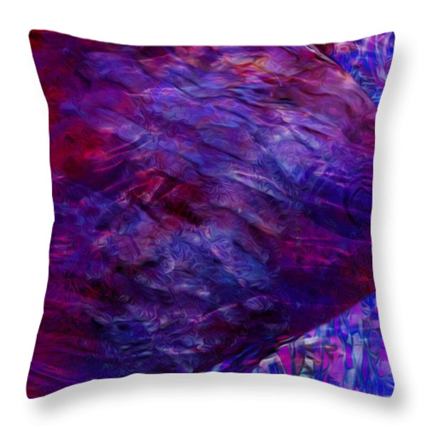 Beneath The Waves Series Throw Pillow by Jack Zulli